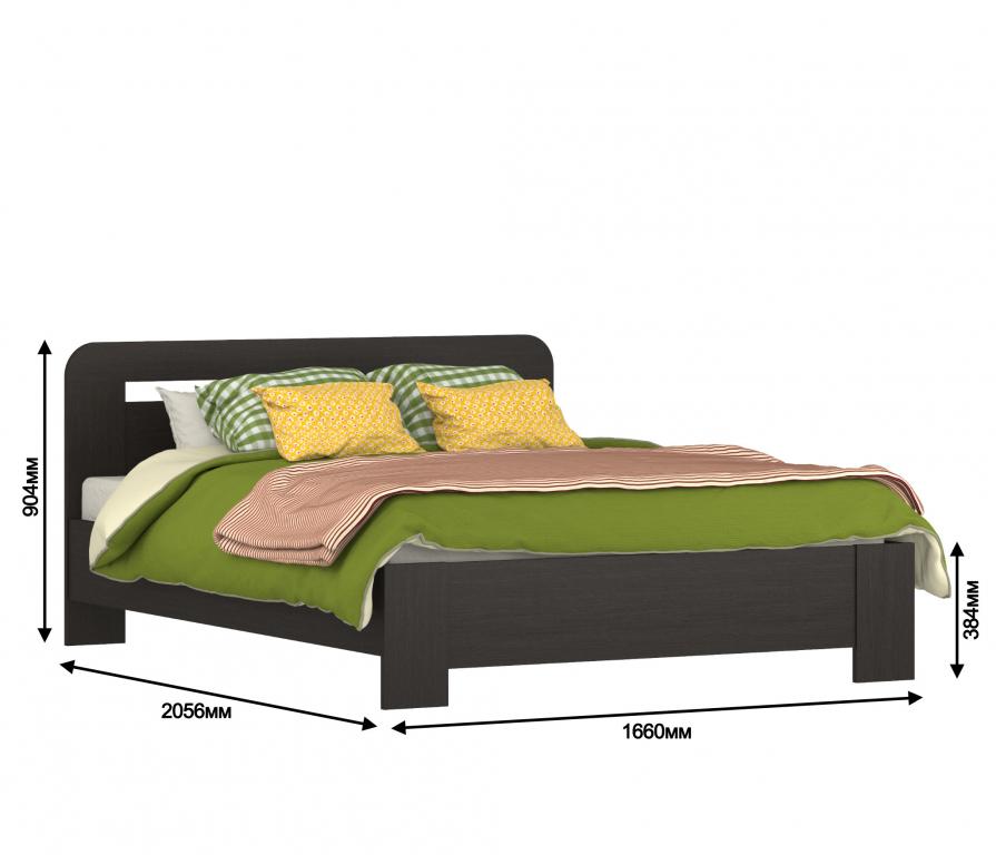 Фото №2: Кровати, Соната СБ-2490 Кровать 1600